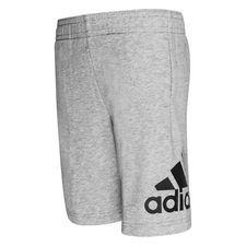 adidas Shorts Must Haves Badge of Sport - Grau/Schwarz Kinder