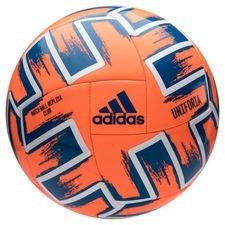 adidas Fotboll Uniforia Club Ball EURO 2020 - Orange/Blå/Vit