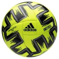 adidas Fotboll Uniforia Club Ball EURO 2020 - Gul/Silver/Svart