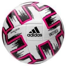 adidas Fotboll Uniforia Club Ball EURO 2020 - Vit/Svart/Rosa