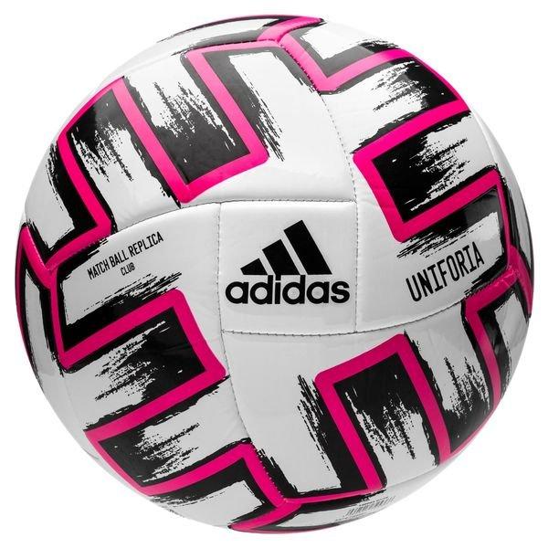 adidas Fotboll Uniforia Club Ball EURO 2020 VitSvartRosa