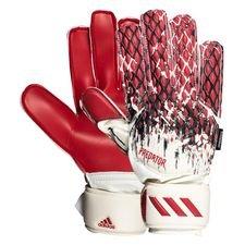 adidas Torwarthandschuhe Handschuhe Predator 20 Fingersave Manuel Neuer - Weiß/Schwarz/Rot Kinder