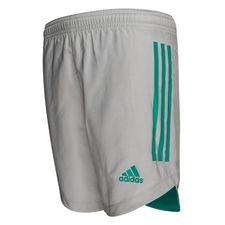 adidas Trainingsshorts Condivo 20 - Grau/Glory Green Kinder