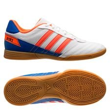 adidas Super Sala IC - Hvid/Orange/Blå Børn