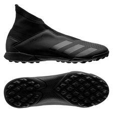 adidas Predator 20.3 Laceless TF Shadowbeast - Zwart/Grijs Kinderen