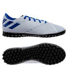 adidas Nemeziz 19.4 TF Mutator - Hvid/Blå Børn