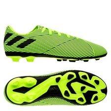 adidas Nemeziz 19.4 FG/AG Uniforia - Signal Green/Schwarz/Blau Kinder