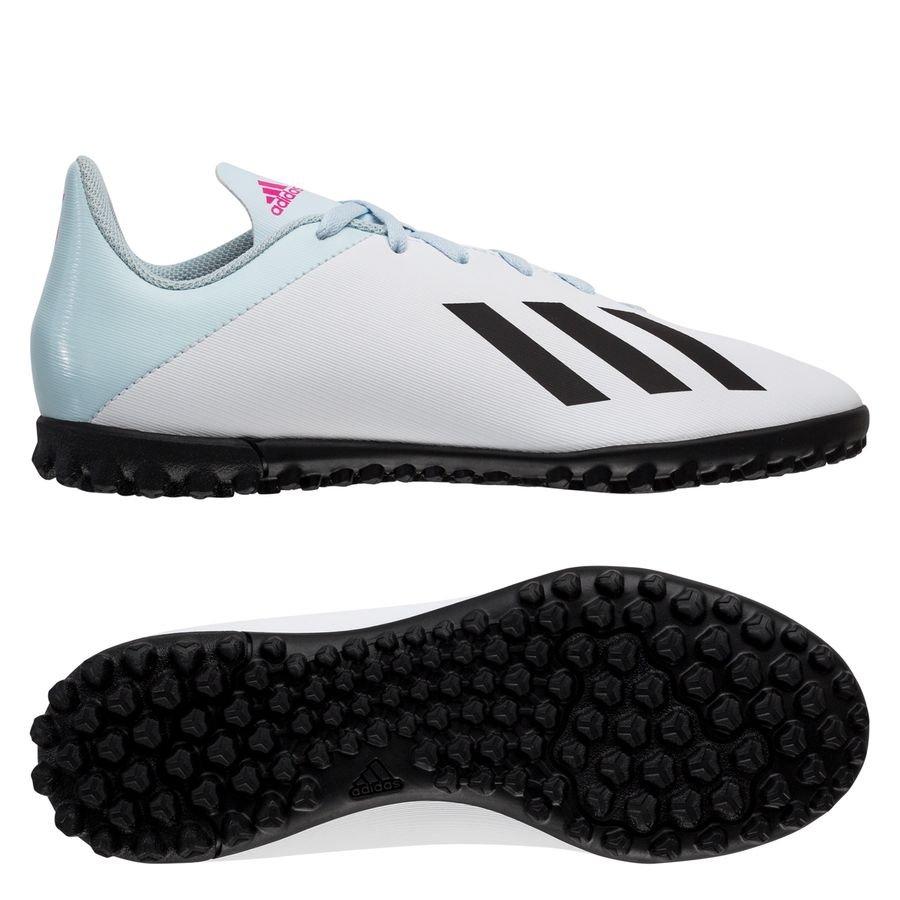 adidas X 19.4 TF Uniforia - Hvid/Sort/Pink Børn