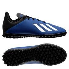 adidas X 19.4 TF Mutator - Blau/Weiß/Schwarz Kinder