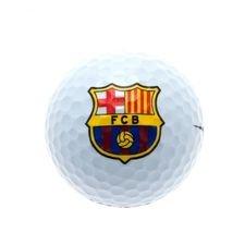 Barcelona Golfboll - Vit/Gul