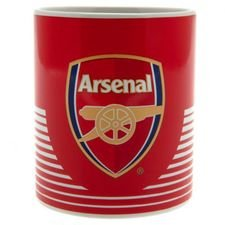 Arsenal Becher - Rot/Weiß