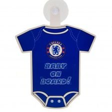 Chelsea Fönsterskylt Baby On Board - Blå