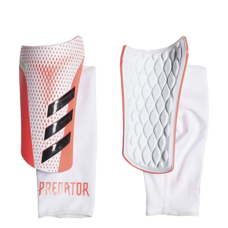 adidas Benskinner Predator League Uniforia - Hvid/Rød thumbnail