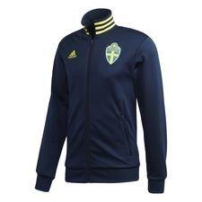 Schweden 3-Streifen Trainingsjacke Blau