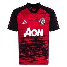 Manchester United Tränings T-Shirt Presentation - Röd/Svart Barn