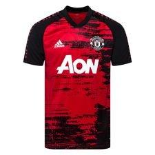 Manchester United Pre-Match Jersey Röd