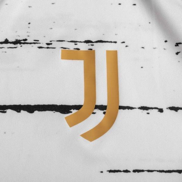 Juventus Trenings T Skjorte Presentation HvitSort Barn