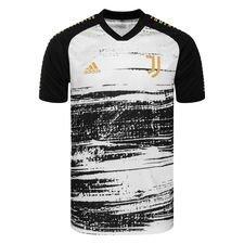 Juventus Tränings T-Shirt Presentation - Vit/Svart Barn