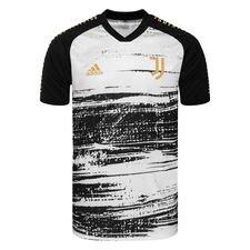 Juventus Tränings T-Shirt Presentation - Vit/Svart
