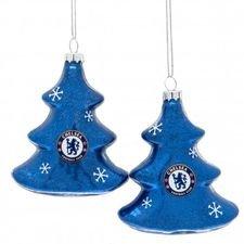 Chelsea Julgransträd 2-Pack - Blå