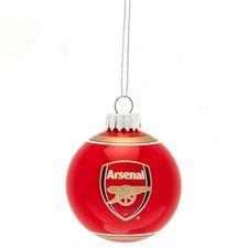 Arsenal Julgranskulor - Röd