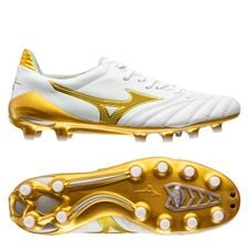 Mizuno Morelia Neo II Made in Japan FG Victory Gold - Vit/Guld