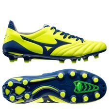 Mizuno Morelia Neo II Made in Japan FG Brazilian Spirit - Gul/Blå