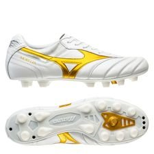 Mizuno Morelia II Made in Japan FG Victory Gold - Vit/Guld