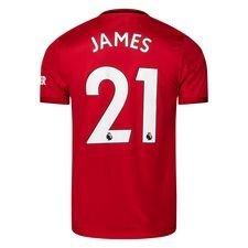 Manchester United Hemmatröja 2019/20 JAMES 21 Barn