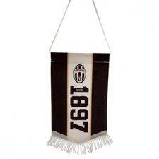 Juventus Vimpel Mini - Svart/Vit