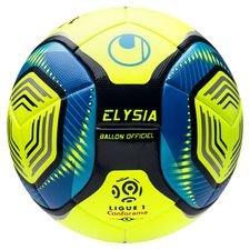Uhlsport Fotboll Elysia Ligue 1 Hi-Vis 2019/20 Matchboll - Gul/Blå