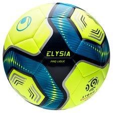 Uhlsport Fotboll Elysia Ligue 1 Hi-Vis 2019/20 Pro - Gul/Blå