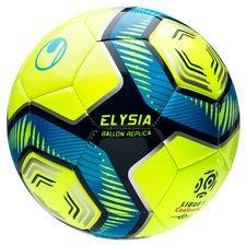 Uhlsport Fotboll Elysia Ligue 1 Hi-Vis 2019/20 Replica - Gul/Blå
