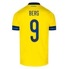 Sverige Hjemmebanetrøje EURO 2020 BERG 9