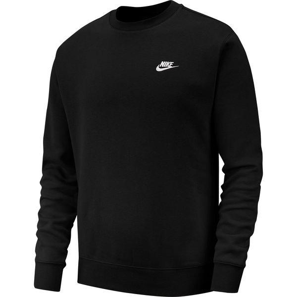 Nike Genser NSW Club Crew RødHvit | unisportstore.no