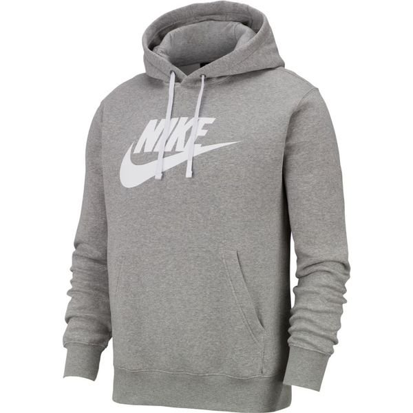Nike Sweat à Capuche NSW Club - Gris/Blanc