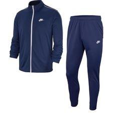 Nike Trainingspak NSW Basic - Navy/Wit