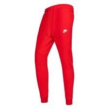 Nike Trainingsbroek NSW Tech Fleece - Rood/Wit