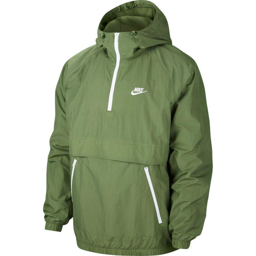 Nike Jakke NSW Woven GrønnHvit