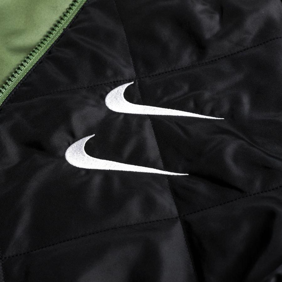 Nike Bomberjakke NSW Woven Vendbar GrønnSortHvit   www