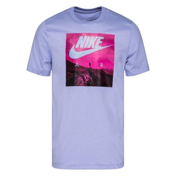 Nike T-Shirt NSW Air Photo - Light Blue