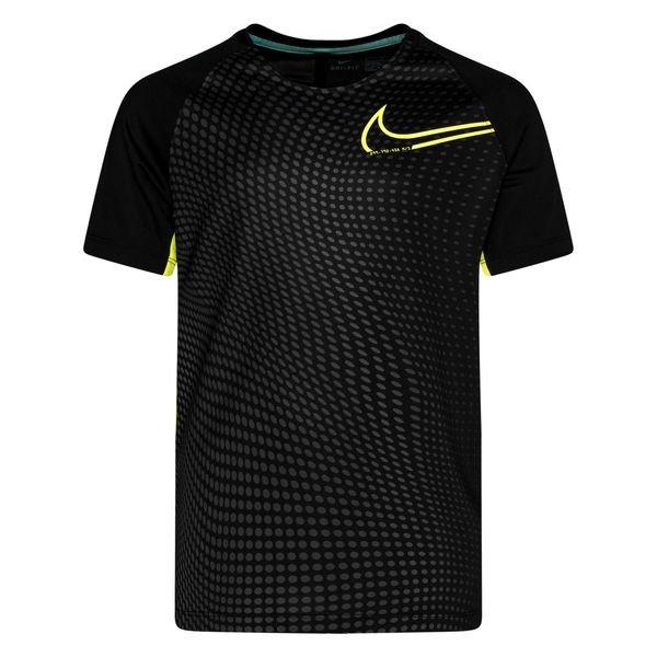 Nike T shirt d'Entraînement Dry CR7 Dream Speed 2 NoirJaune Enfant