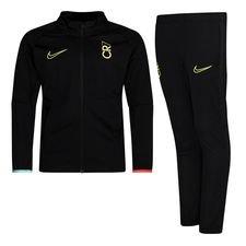 Nike Trainingsanzug Dry Academy CR7 Dream Speed 2 - Schwarz/Türkis/Lemon Venom Kinder