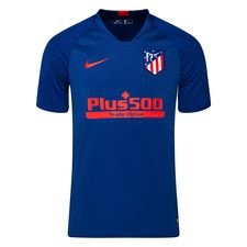 Atletico Madrid Tränings T-Shirt Breathe Strike - Navy/Röd