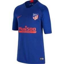 Atletico Madrid Tränings T-Shirt Breathe Strike - Navy/Röd Barn
