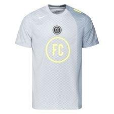 Nike F.C. X Total90 Udebanetrøje - Grå/Hvid