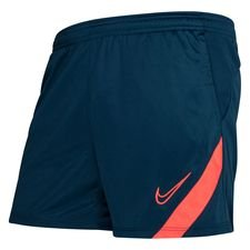 Nike Shorts Academy Pro - Valerian Blue/Pink Damen