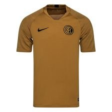 Inter Tränings T-Shirt Breathe Strike - Bronze/Guld/Svart
