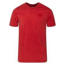 Roma T-Shirt Retro - Röd