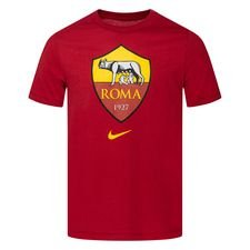 Roma T-Shirt Evergreen Crest - Röd